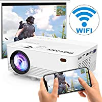 [2020 Upgrade WiFi Projector] POYANK 5500Lux LED WiFi Projector, Full HD 1080P Supported Mini Projector, [Native 720P]...