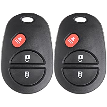 SCITOO Keyless Entry Kit 1 PC New Replacement Keyless Entry Remote Key Fob Transmitter Clicker Beeper Alarm fit GQ43VT20T
