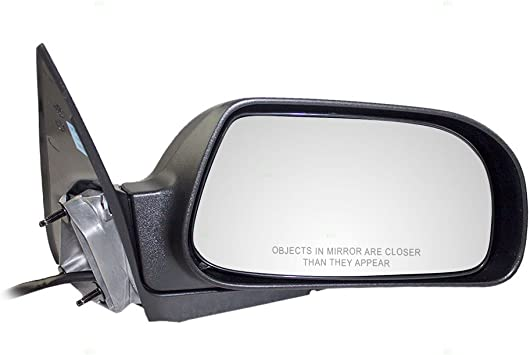 Left /& Right Side Textured Black Heated Mirror for 2004-2005 Chrysler Pacifica