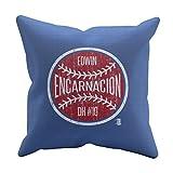 500 LEVEL's Edwin Encarnacion Soft And Comfortable Throw Pillow For Cleveland Baseball Fans - Edwin Encarnacion Ball W