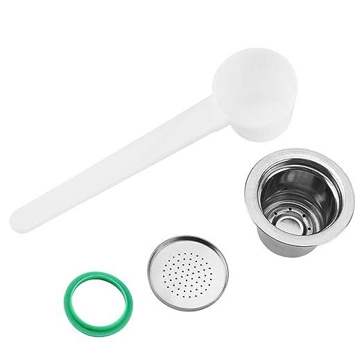 Fditt Cápsula de café reutilizable recargable compatible con ...