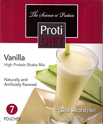 Proti Diet Shake (7 pouches per box) Net Wt 7.5oz (213g) from Pro-Amino International