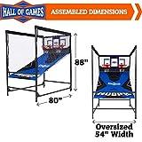 Hall of Games 2 Player Arcade Basketball Game