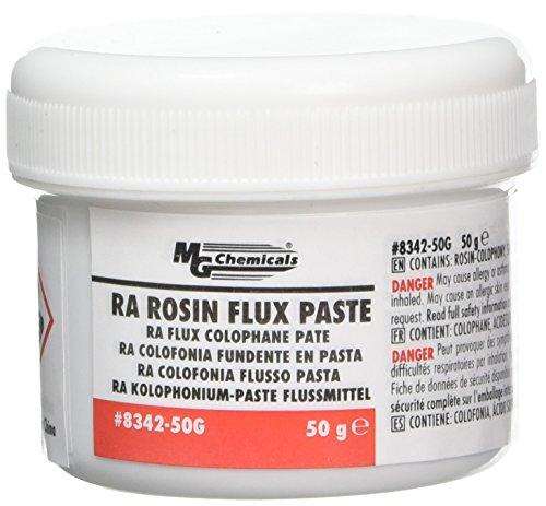 MG Chemicals RA Rosin Flux Paste, Amber, 50 g Jar ()