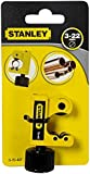 Stanley 0-70-447 - 22mm Adjustable Pipe Cutter, Black/Yellow
