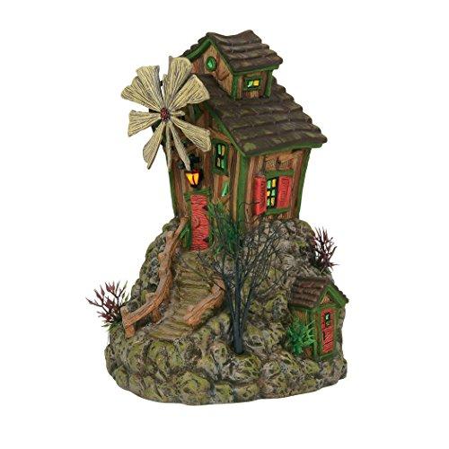 (Department56 Department 56 Snow Village Halloween The Bone Grinder Mill Lighted Buildings)