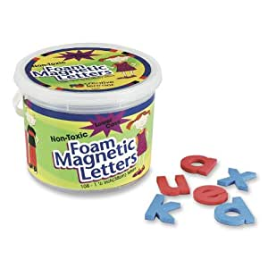 "Pacon - Magnetic Alphabet Letters,Foam, Lower Case, 1-1/2"", 108 Ct., Sold as 1 Set, PAC 27570"