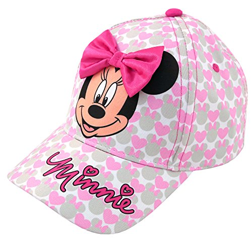 (Disney Toddler Girls Minnie Mouse Bowtique Baseball Cap, Age)