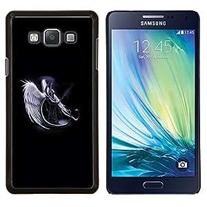 /Skull Market/ - Horned Angel Warropr For Samsung Galaxy A7 - Mano cubierta de la caja pintada de encargo de lujo -
