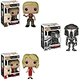 Pop! TV: Battlestar Galactica Lt. Starbuck, Cylon Centurian and Six! Vinyl Figures Set of 3