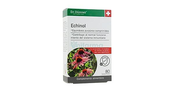 Echinol Dr.Dunner 80 comprimidos de Salus: Amazon.es: Salud y cuidado personal