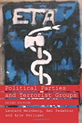 Political Parties and Terrorist Groups (Extremism and Democracy) Paperback