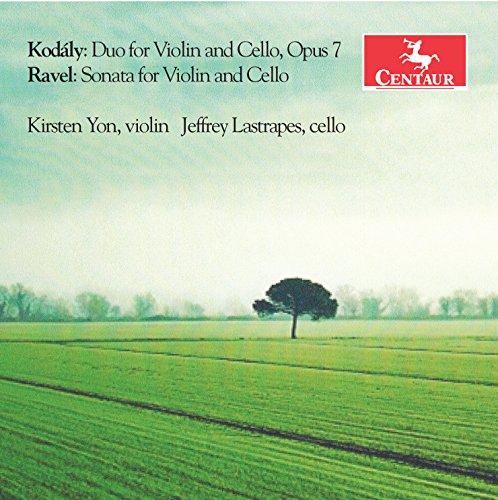Kodály: Duo for Violin & Cello, Op. 7 - Ravel: Sonata for Violin & Cello, M. ()