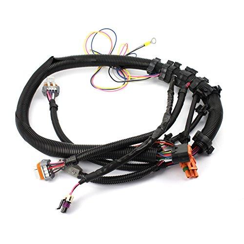 (Gm LS1 LS6 24-Tooth Black Crank Sensor Wiring Harness Intake Manifold Mount)