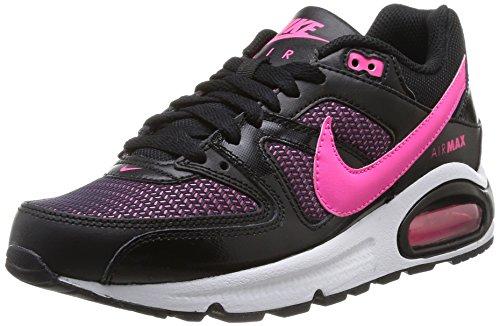 Nike Air Max Command (GS) Scarpe Sportive, Uomo Black/Pink Pow-white