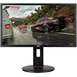 "Acer Gaming Monitor 24"" XFA240 bmjdpr 1920 x 1080 144Hz Refresh Rate 1ms Response Time AMD FREESYNC Technology with Height, Pivot, Swivel & Tilt (Display Port, HDMI/MHL, DVI Port)"