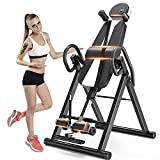 Yoleo Gravity Heavy Duty Inversion Table with Adjustable Headrest &...