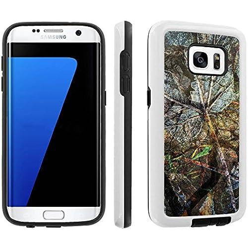 [Galaxy S7] [5.1 Screen] Armor Case [Skinguardz] [White/Black] Shock Absorbent Hybrid - [Hunter] for Samsung Galaxy S7 / GS7 Sales
