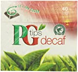 PG Tips Decaf 40 Ct Tea Bags - 2 Pack