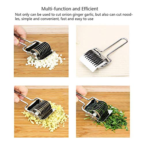 Tomato Onion Vegetables Slicer Cutting Aid Holder Guide Slicing Cutter Safe Fork Garlic Coriander Kitchen Cooking Tools - Garlic Aid