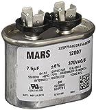 MARS - Motors & Armatures 12007 370V 7.5 MFD Round Run Capacitor