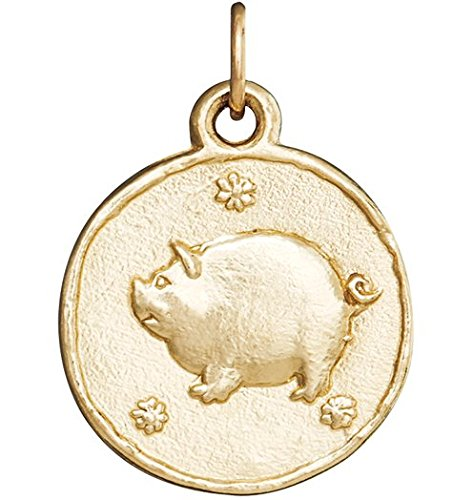 Helen Ficalora Pig Coin Charm