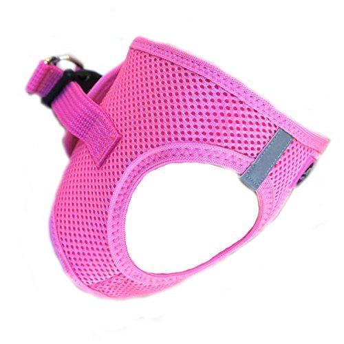 Picture of CHOKE FREE REFLECTIVE STEP IN ULTRA HARNESS - PINK - ALL SIZES - AMERICAN RIVER (XXS) by Doggie Design