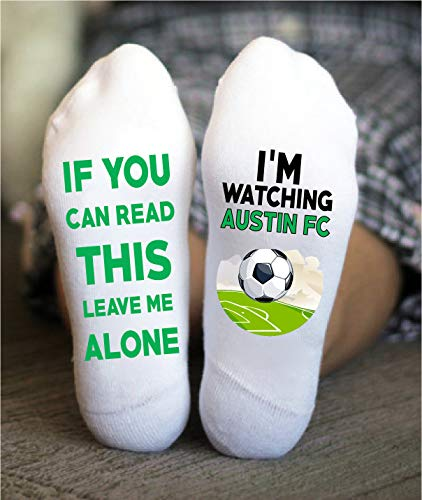 Austin FC Soccer Socks Funny Gift Major League Game Day