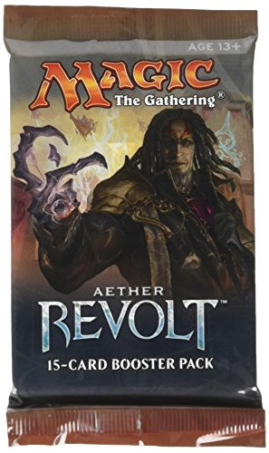Magic the Gathering Aether Revolt 15-card sealed booster pack (1 pack)