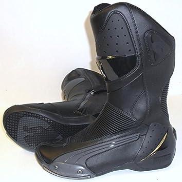 1e98bd6b3d0677 PUMA MOTO 800 DESMO MOTORCYCLE MOTORBIKE BOOT BOOTS BLACK J S   Amazon.co.uk  Car   Motorbike