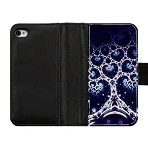 Custom Diary Leather Cover Tree of Life Otterbox for iPhone4 iPhone4S