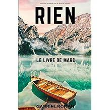 RIEN: Le livre de Marc