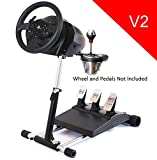 TX Deluxe Racing Steering Wheelstand for Thrustmaster T300RS(PS4) TX458(Xbox One)TX Leather,T150, GT, T-GT and TMX/TMXPRO! Original Wheel Stand Pro Stand V2. Wheel & Pedals Not included