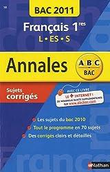 Francais 1re ES, S, L : Sujets corrigés