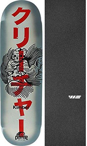 フォーム愛国的な予約Creature Skateboards Willis Kimbel Sketchy Demonsスケートボードデッキ – 9