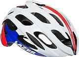 Lazer Blade Helmet: Red/White/Blue SM