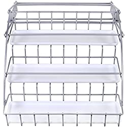 Rubbermaid Pull Down Spice Rack, Clear 1951590