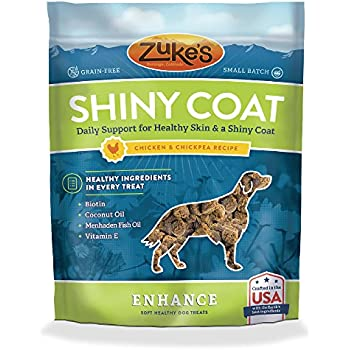 Amazon.com : Zuke's Enhance Shiny Coat Chicken & Chickpea