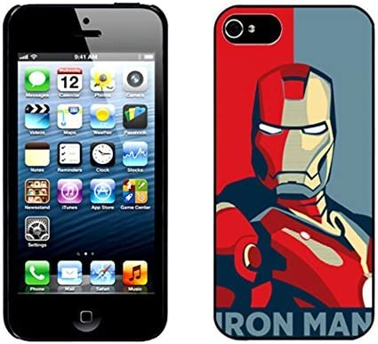 Iron Man ironman Hard Cover Case for iPhone 5 5s case: Amazon ...