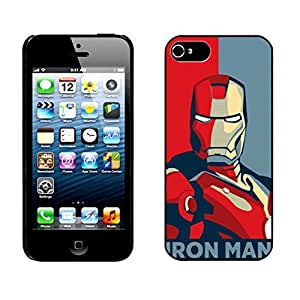 Iron Man ironman Hard Cover Case for iPhone 5 5s case hjbrhga1544