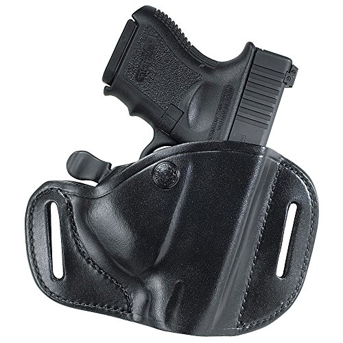 Bianchi Gun Leather 82 Carrylok Size: 11 Glock 19 23 Hip Holster (Black, Right Hand)