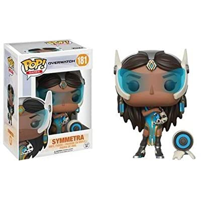 Funko POP Games: Overwatch Symmetra Toy Figures: Funko Pop! Games:: Toys & Games