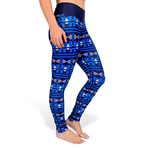 NFL San Diego Chargers Women's Aztec Print Leggings