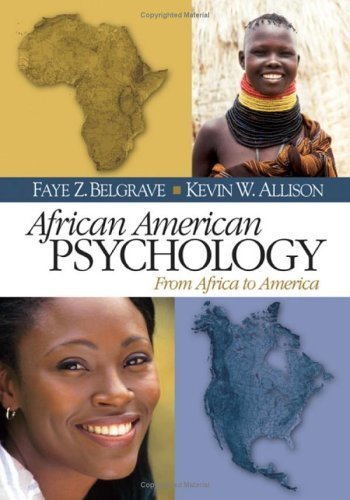 Books : African American Psychology: From Africa to America by Faye Z. (Zollicoffer) Belgrave (2005-08-11)