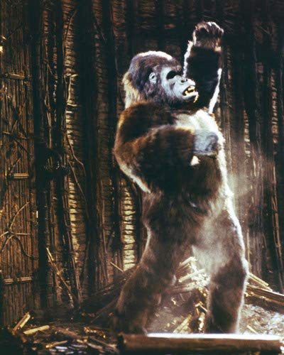 - King Kong Kong stands tall with arm raised 11x14 Promotional Photograph