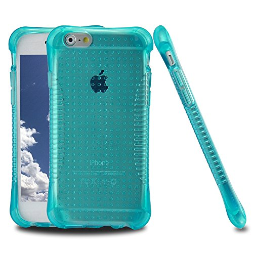 iPhone 5S Case, [Slim Shockproof] [MINT GREEN] Soft Silicone Gel Rubber Case Flexible TPU ed Bumper Case Skin Cover for Apple iPhone 5 5S
