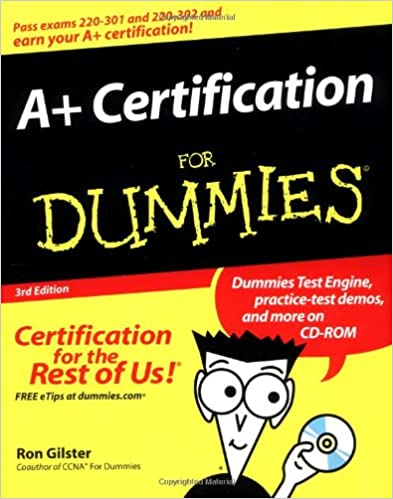a certification for dummies ron gilster 9780764541872 amazon com