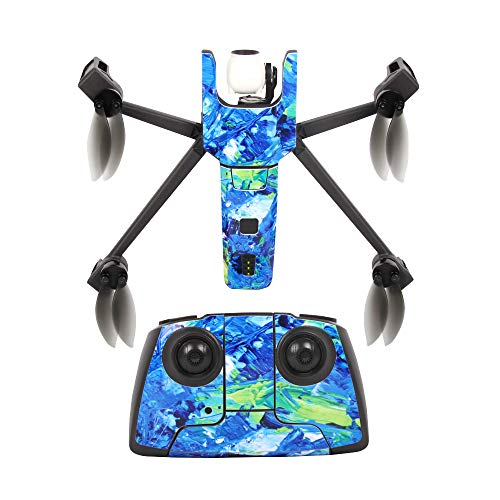 Sunnylife Stickers Skin Decals Set for Parrot Anafi Drone Remote Controller Battery ()