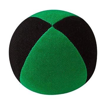 Jonglierbälle - Pelota de Malabares (62 mm), Color Negro y Verde ...