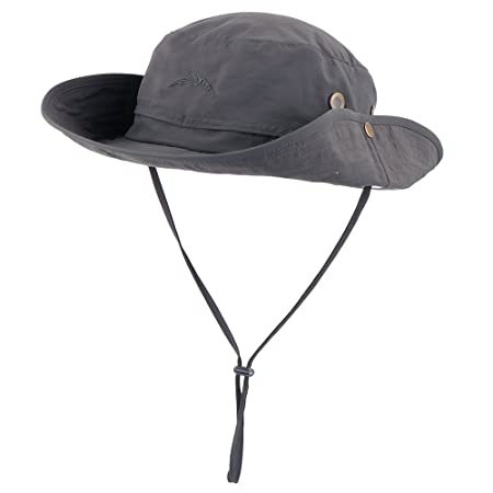 096b0b28b89 Anyoo Outdoor Boonie Hat Breathable Wide Brim Summer Sun Cap UV Protection  Fishing Camouflage Hat for